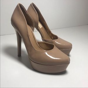 Jessica Simpson | Nude D'Orsay Pumps Heels Size 7